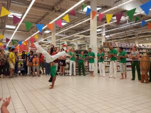 Demonstration Capoeira Carrefour Beaulieu (29)