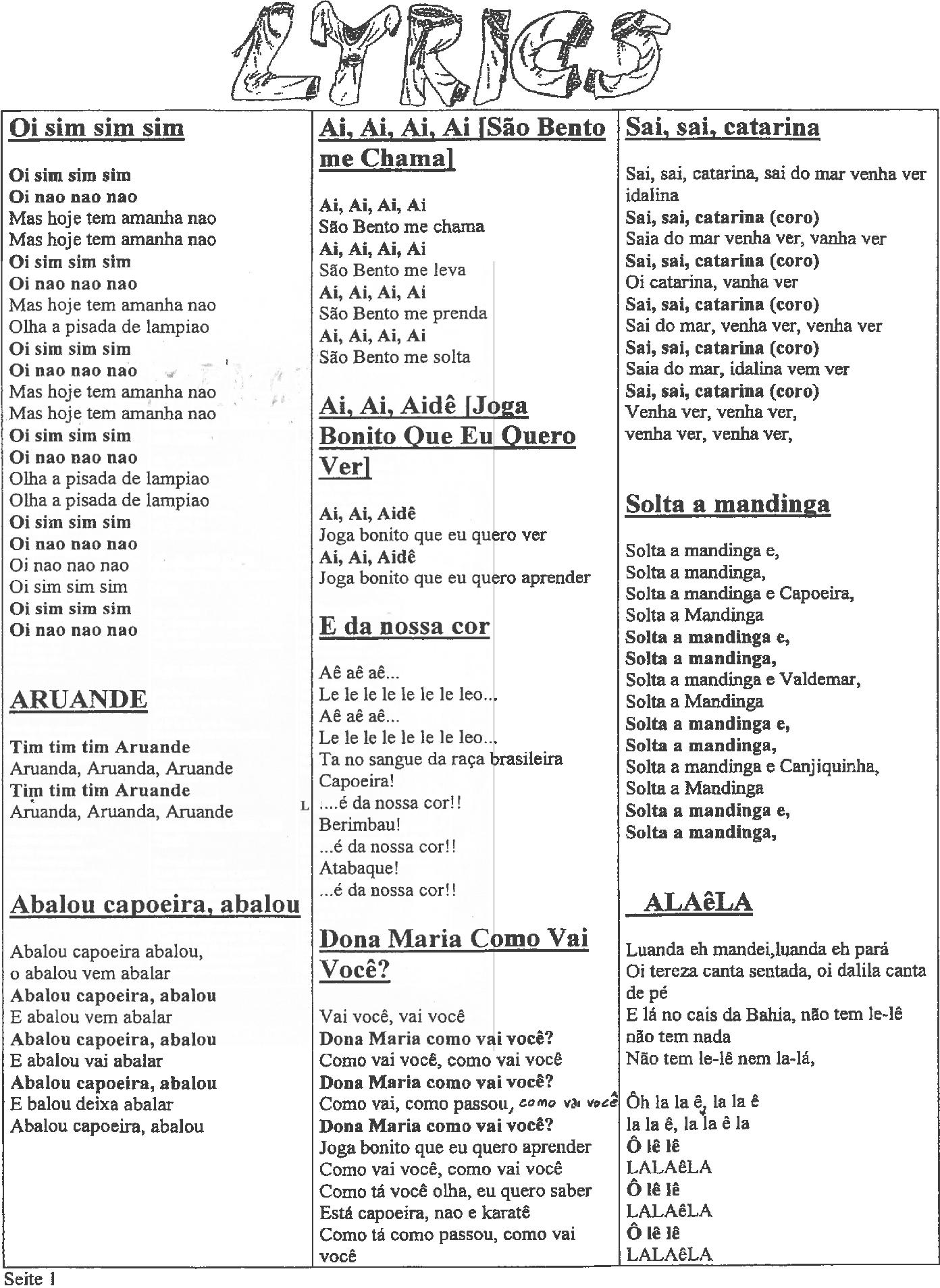 lyrics capoeira 2015png