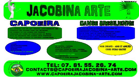 Inscriptions Capoeira et Danse Bresilienne 2017-2018